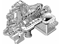 جزوه کامل اصول کار انواع قطعات بهره برداری، تعمیرات و عیب یابی توربین های بخار